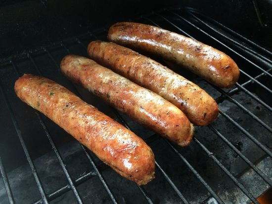 Dinner is on Barbecue Barbecue Grill Brats Close-up Grilled Grillin Meat Preparing Food Summer