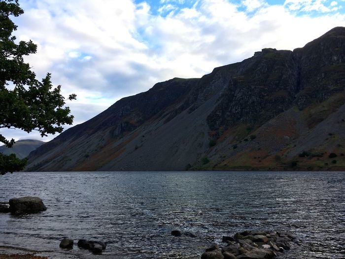 View from the hostel Lake District Sky Water Nature Mountain Beauty In Nature Outdoors Lake Landscape Tranquility