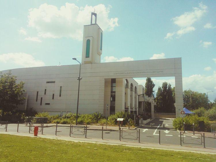 Mosquée de Creteil. Mosque Islam God Is Great. Religion