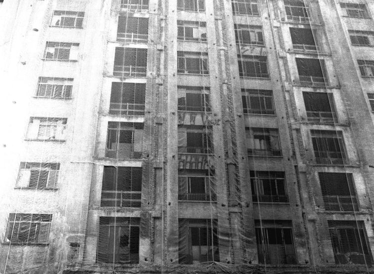 Architecture Window Building Exterior Low Angle View City Life Building Story Bwn Black And White Blackandwhite 35mm Film The Purist (no Edit, No Filter) Sao Paulo - Brazil Film Is Not Dead Film Monochrome Photography City Architecture