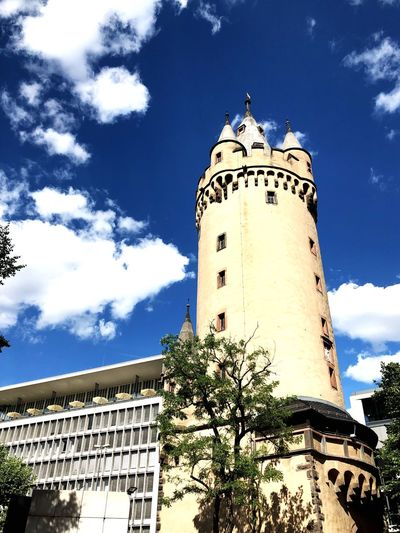 Germany🇩🇪 Frankfurt Am Main Historical Building Historical Building Architecture Sky Cloud - Sky Travel Destinations History Outdoors Tower No People The Past Travel Building