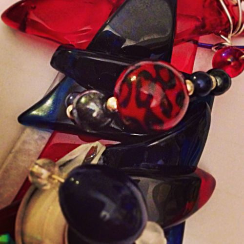 Jewelry Monica Dessì Glass Art Jeddah Abstract Glass Art