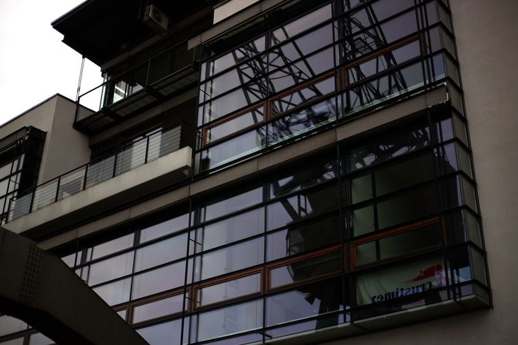 Architecture Low Angle View Built Structure Window Building Exterior Day No People