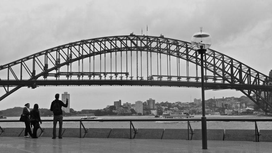 Architecture Bondi Bondi Beach Bridge - Man Made Structure Built Structure Cloud - Sky Cloudy Lifestyles River Sky Sydney Sydney, Australia Tourism Water