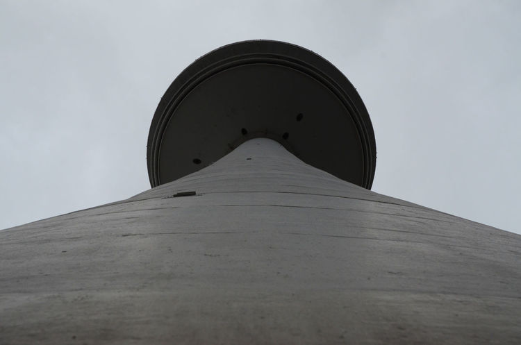 As close as it gets. Architecture Built Structure Diminishing Perspective Fernsehturm Heinrich-Hertz-Turm Tapered Tower