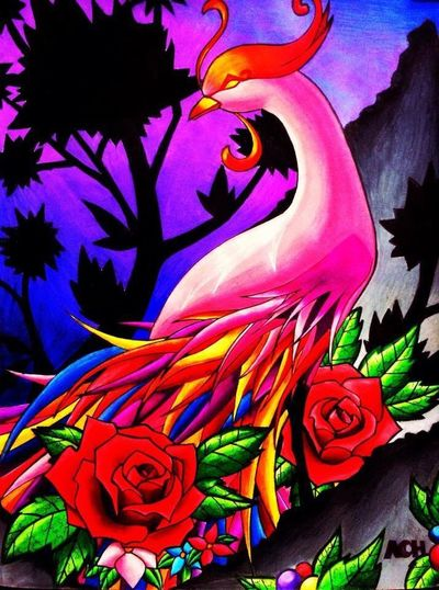 Fantasy Art Drawing Color Portrait