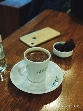 Turkish coffee 😋 Table Indoors  No People Food And Drink Close-up Focus On Foreground Freshness