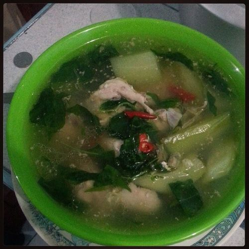 Because its a saturday, its tinola day! :D Solohista Solb UnliRice
