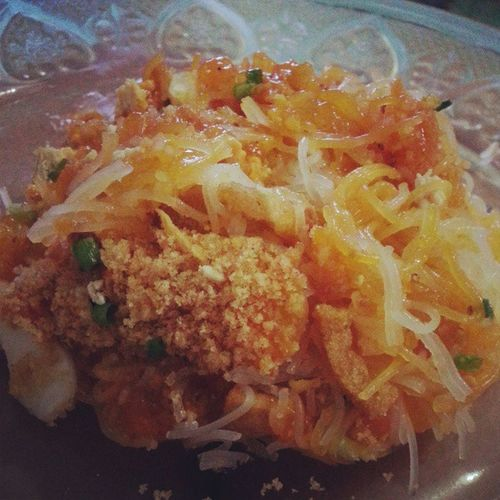 Paleybowk for snack. Filipinofood Palabok Snack Food