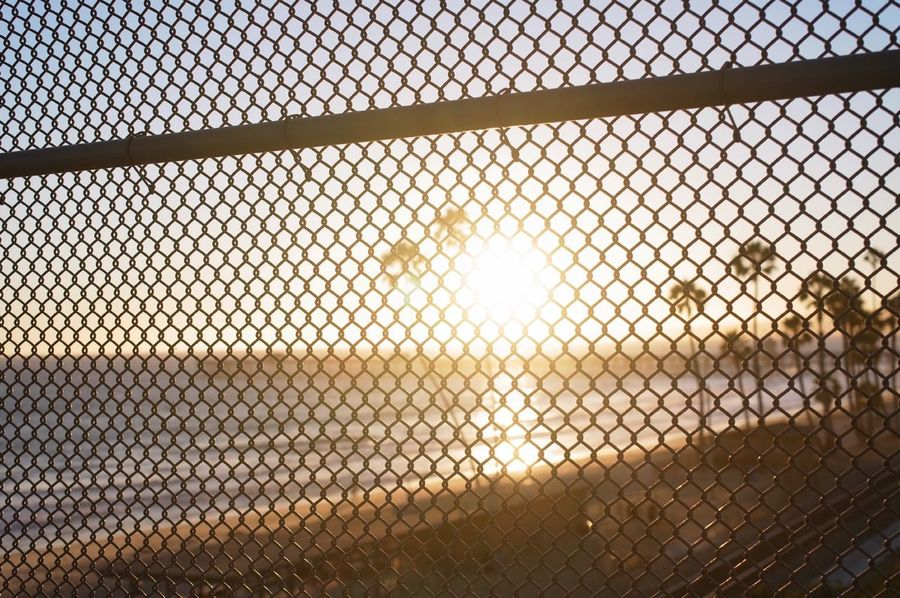 Caged Beach San Clemente Sunset_collection