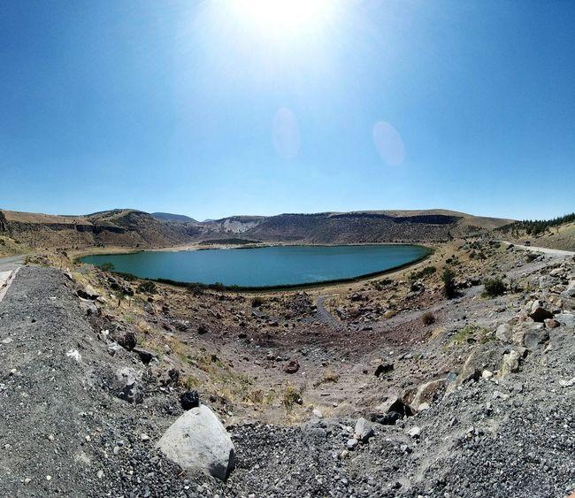 Panoramik Krater Gölü Turkey💕 Aksaray