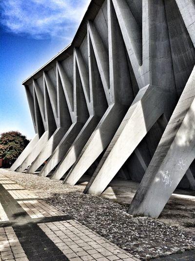 Architectural Column Architecture Built Structure Cloud - Sky Day Design Modern Travel Destinations Ostarchitektur