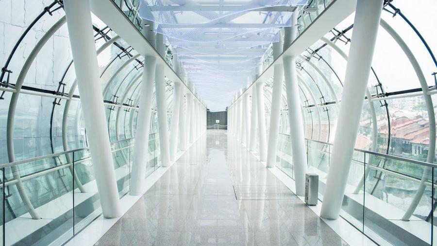 Symmetrical Minimalism Bridge Singapore