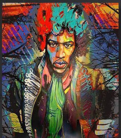 Mr Jimi Hendrix !!(again, I know....) One Person Electric Guitar Musical Instrument Guitar Jimi Hendrix Jimihendrix