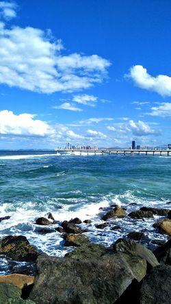 Sea Beach Sky Water