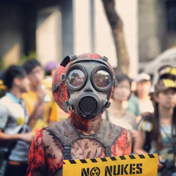 No Nuke Protester Mask alien portrait anti fashion AKW photooftheday picoftheday bestofthebest bestoftheday instagold instamood instagrammer instagramtaiwan igerstaiwan igdaily igers mytravelgram mtgang iheartmtg streetphotography travelingram travelphotography