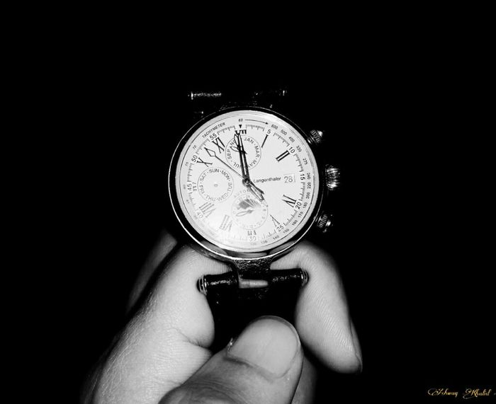 Langenthaler ⌚ 😍 😍 😍 Blackandwhite Monochrome Watches Classy Epic Catchy Appeal Timeless Watch
