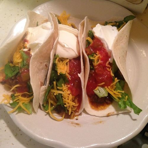 Taco Bell has nothing on this! Homemadetaco