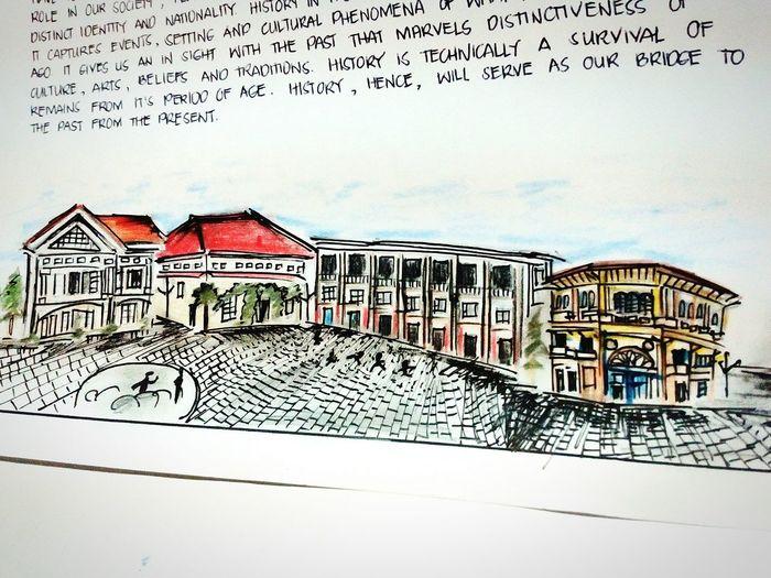 Architecture Built Structure Sketchy Stories Lascasasfilipinasdeacuzar