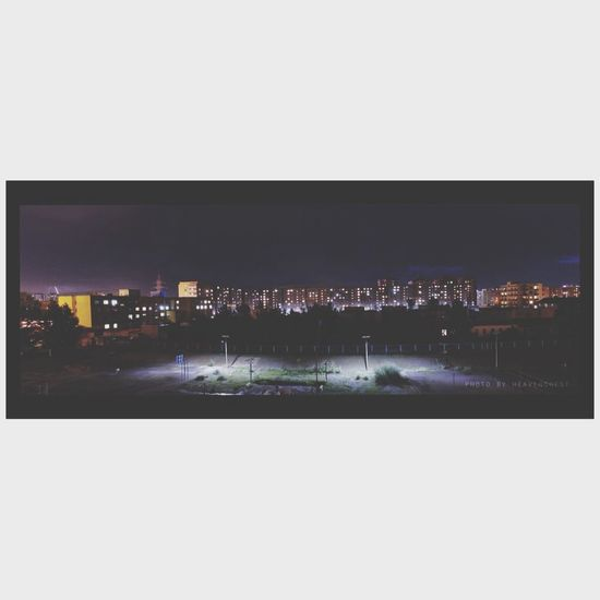 Night Panorama Rain Apartment