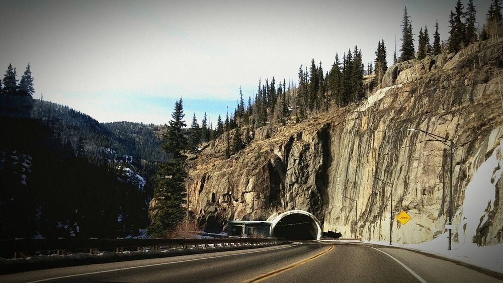 Share Your Durango Colorado Driving Through Outdoor Photography Landscape Scenics No People Transportation Beauty In Nature Nature_collection Tunnel Mountain_collection Nature Photography