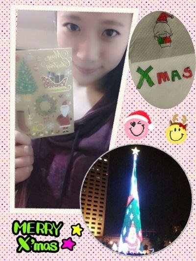Christmas Eve My Dear Sis  Christmas Cards Happy 收到重要的人寫的卡片好開心,希望我們明年都有人一起陪過聖誕節唷!