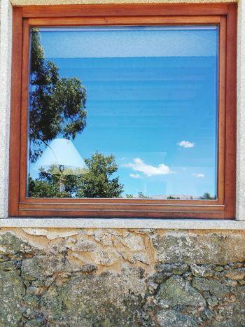EyeEm Selects Window Sky Reflexions Lamp Home