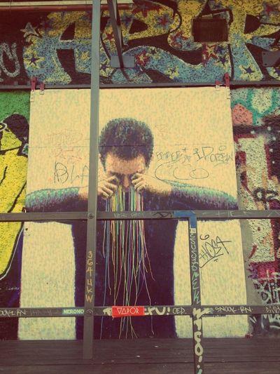 Street Art Feeling Inspired Street Art/Graffiti