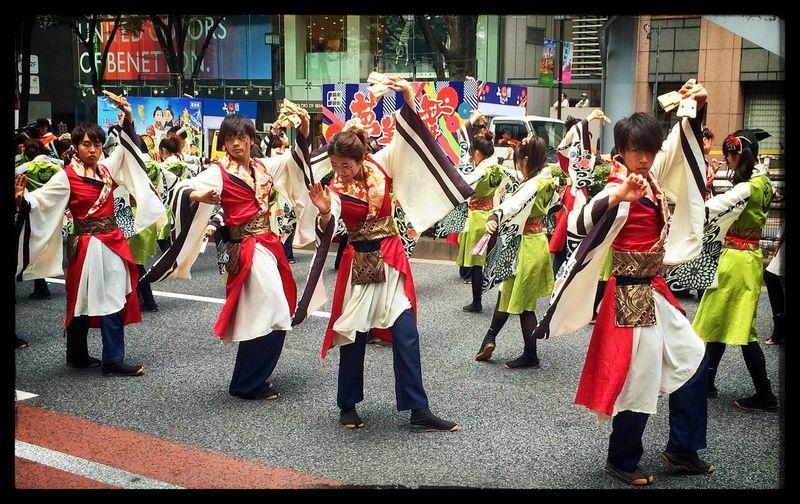 よさこい - 表参道通り (Aug. 2014) Tokyo Japan Style Colourful 日本の夏 Asian Culture