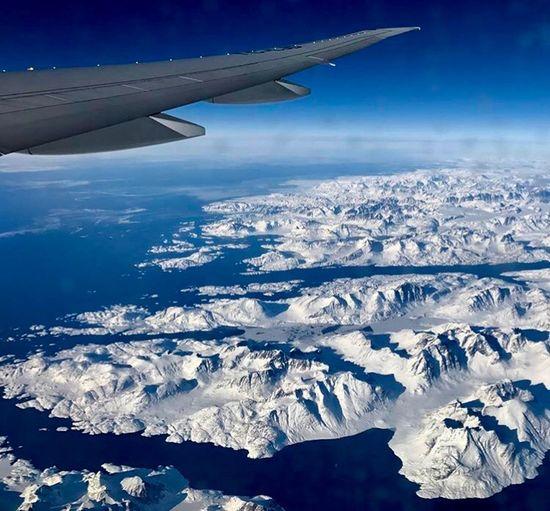 Grönland Aerial View Cold Temperature Nature Beauty In Nature Snow Winter Scenics