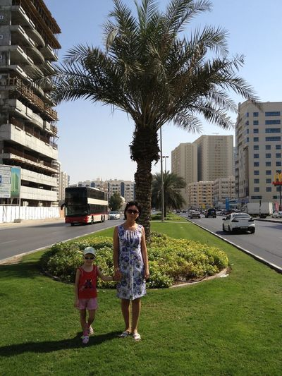 Sharjah United Arab Emirates Family❤ Palms Building Road City