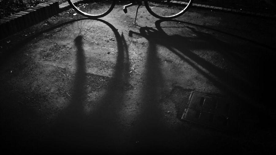 Monochrome Blackandwhite That's Me Light And Shadow