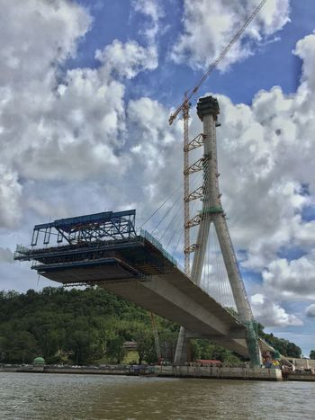 Under construction Bridge Suspendedbridge EyeEm Best Shots Suspension Bridge Bridgeporn Iphonephotography IPhoneography