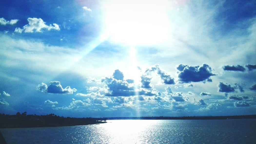 Lagoparanoa Brasília Brazil Pontejk Sun Beauty In Nature Day Lake Bright