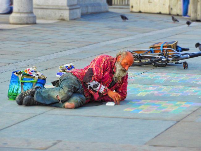 Travel, London, England Street Photography Street Art Trafalgar Sq