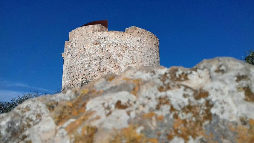 History Mountain Blue Outdoors Old Ruin Clear Sky Sky Day Nature Close-up Architecture