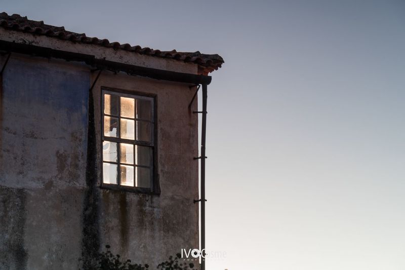 Clear Sky Architecture Low Angle View Window No People Outdoors Building Exterior Day Seia Serradaestrela Portugal
