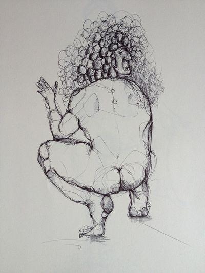 EJERCICIOS GASTRO-ANÓNIMOS. Paletilla a las brasas con bolitas de nabo, de Josémi.