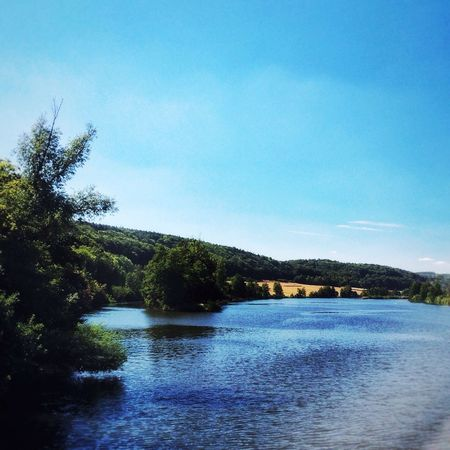 Water Danube Nature Scenics Beauty In Nature Tranquil Scene Idyllic Sky River Outdoors No People Day Landscape