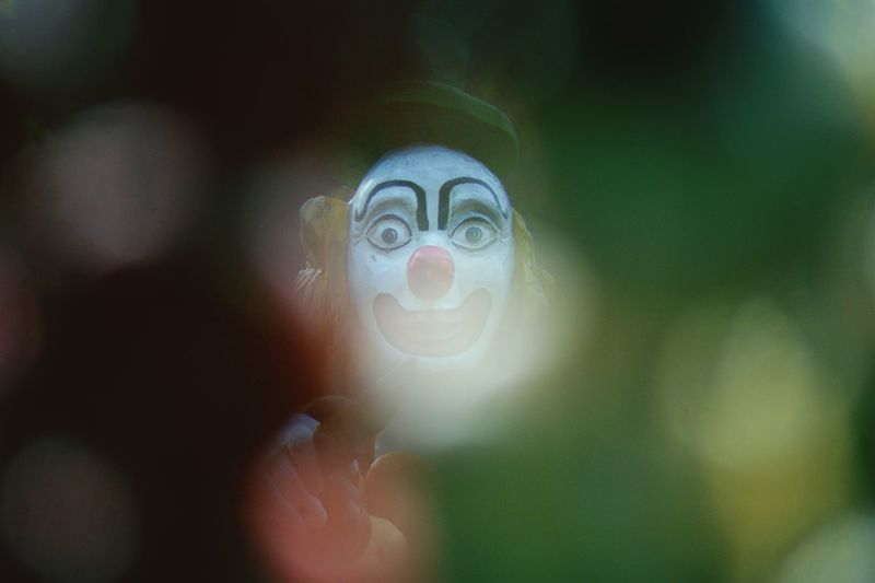 Close-Up Of Clown Outdoors