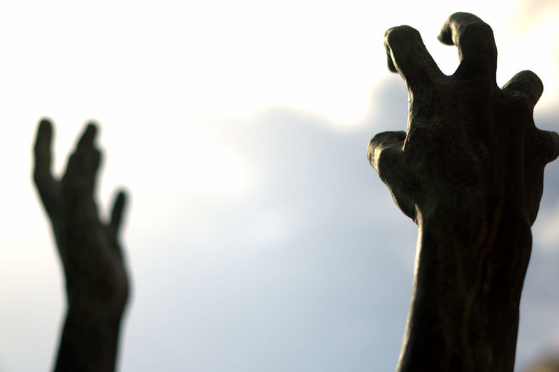 Cry Exploring Expressive Human Body Part Human Hand Low Angle View Reach Out Reaching For The Sky Sculpture Statue Hand