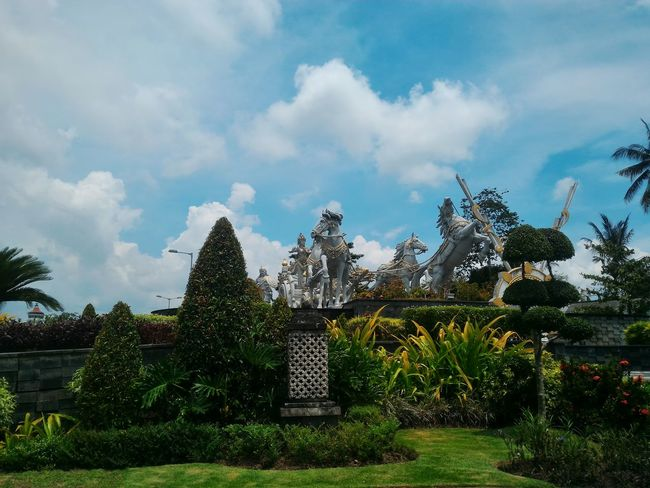Rama Shinta Garden in Bali, Indonesia Travel Destinations Cloud - Sky Sky Tree Vacations No People Outdoors Nature Day EyeEm Vision YaksCollection Bali, Indonesia Garden Garden Photography