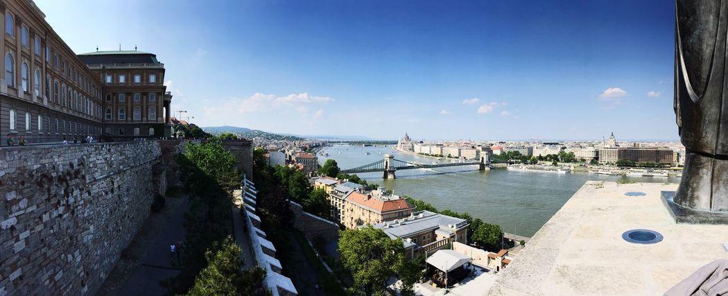 Buda Castle view, Budapest, Hungary Buda Castle Budapest, Hungary Nice Day Summertime View