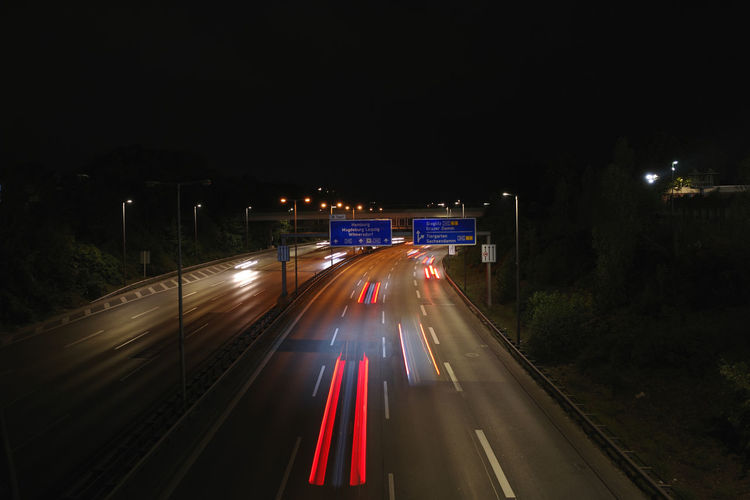 Motorway Night