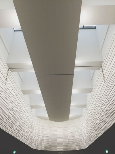 Ceiling Indoors  Illuminated Low Angle View Built Structure Architecture Modern No People Night