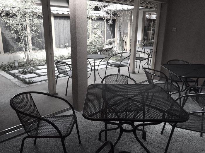 美観地区 倉敷 岡山 Kurashiki Okayama Travel Chair Seat Day No People Metal Absence Window Table Outdoors Nature Sunlight Empty Transportation EyeEmNewHere