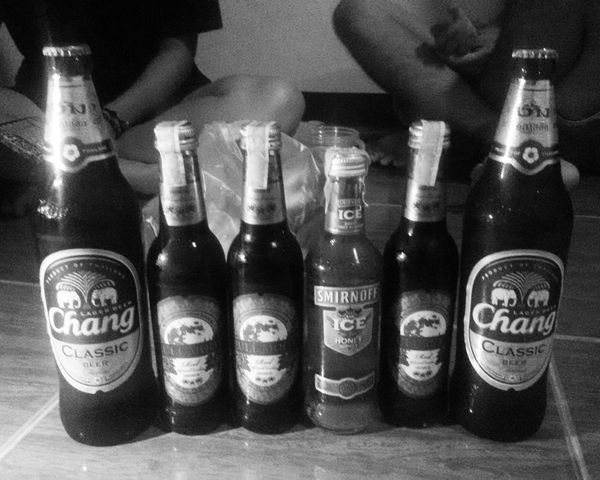 Dring Drank Drunk Fullmoon With Friends Chilling 🍻