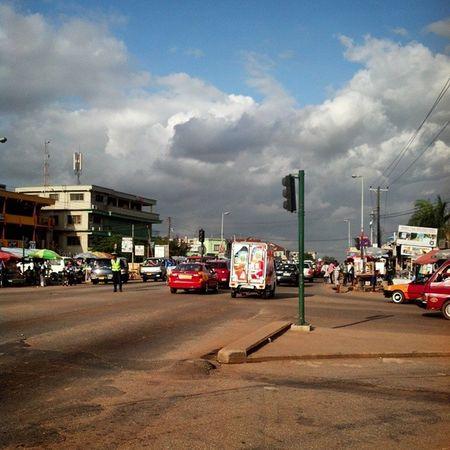 Krofrom Traffic Light (c) 2014 @imrobotboy Ghana Ghana360 Kumasi Igers