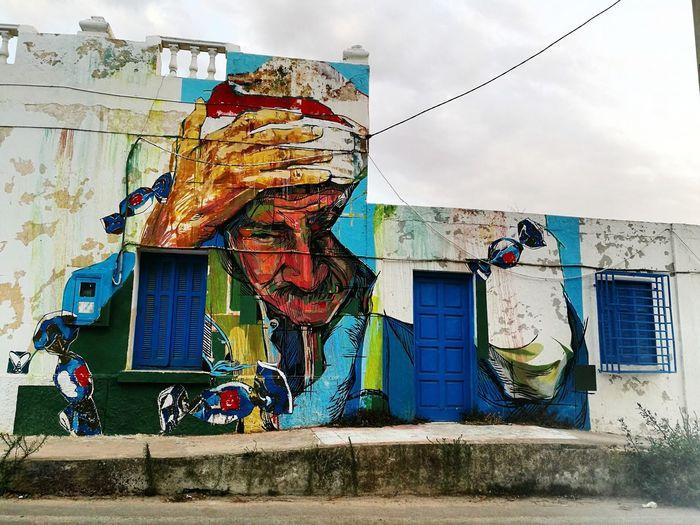 Artist Street Art Multi Colored City