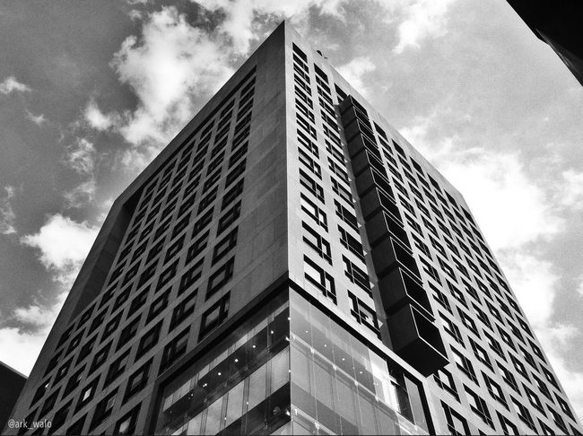 Architecture Blackandwhite Lookingup